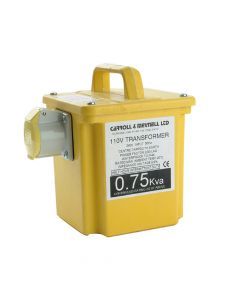 Carroll & Meynell Transformer Single Outlet Rating 750va Continuous 375va - C/M7501