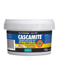 Polyvine Cascamite One Shot Structural Wood Adhesive Tub 125g - CAS125G