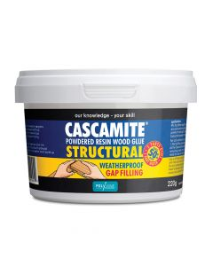 Polyvine Cascamite One Shot Structural Wood Adhesive Tub 220g - CAS220G