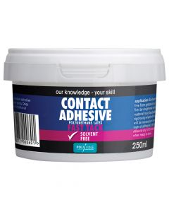 Polyvine Contact Adhesive Solvent-Free Fast Tack 250ml - CASCA250