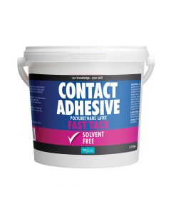 Polyvine Contact Adhesive Solvent-Free Fast Tack 2.5 Litre - CASCA25L