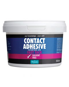 Polyvine Contact Adhesive Solvent-Free Fast Tack 500ml - CASCA500