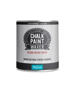 Polyvine Chalk Paint Waxer Satin Finish 500ml - CASCWVS500