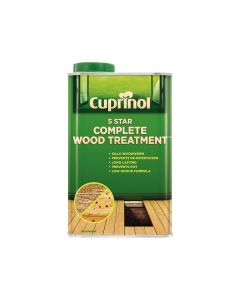 Cuprinol 5 Star Complete Wood Treatment 1 Litre - CUP5ST1L