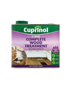 Cuprinol 5 Star Complete Wood Treatment 2.5 Litre - CUP5ST25L