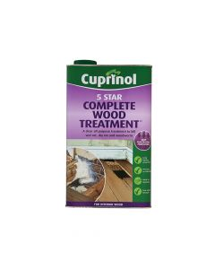 Cuprinol 5 Star Complete Wood Treatment 5 Litre - CUP5ST5L