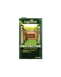 Cuprinol Shed & Fence Protector Gold Brown 5 Litre - CUPSFGB5L