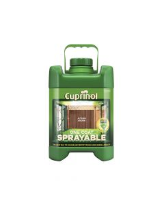 Cuprinol Spray Fence Treatment Autumn Brown 5 Litre - CUPSFTAB5L
