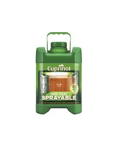 Cuprinol Spray Fence Treatment Autumn Gold 5 Litre - CUPSFTAG5L