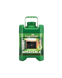 Cuprinol Spray Fence Treatment Black 5 Litre - CUPSFTBL5L