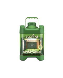 Cuprinol Spray Fence Treatment Forest Green 5 Litre - CUPSFTFG5L
