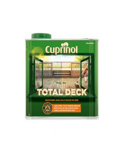 Cuprinol Total Deck Restore & Oil Wood Clear 2.5 Litre - CUPTDC25L