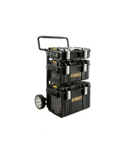 DEWALT TOUGHSYSTEM 4 In 1 Trolley & 3 DS Toolboxes - DEW170349