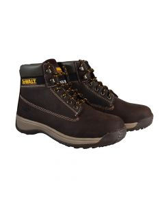 DEWALT Apprentice Hiker Brown Nubuck Boots UK 10 Euro 44 - DEWAPPREN10B