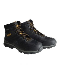 DEWALT Crossfire Kevlar Black Safety Hiker Boots UK 6 Euro 39/40 - DEWCROSSBL6