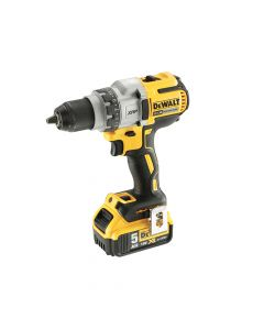 DEWALT Brushless 3 Speed Drill Driver 18V 2 x 5.0Ah Li-Ion - DEWDCD991P2