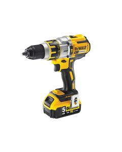 DEWALT XR Brushless Hammer Drill 18V 2 x 5.0Ah Bluetooth Li-Ion - DEWDCD995P2B