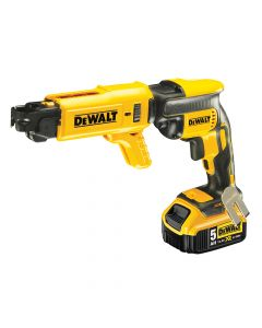 DEWALT Brushless Collated Drywall Screwdriver 18V 2 x 5.0Ah Li-Ion - DEWDCF620P2K