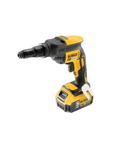 DEWALT XR Brushless Self-Drilling Screwdriver 18V 2 x 5.0Ah Li-Ion - DEWDCF622P2