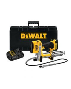 DEWALT Cordless XR Grease Gun 18V 1 x 4.0Ah Li-Ion - DEWDCGG571M1