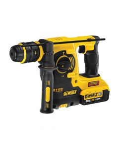 DEWALT M2 SDS Plus 3 Mode Hammer Quick Change Chuck 18V 2 x 4.0Ah Li-Ion - DEWDCH254M2