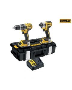 DEWALT XR Brushless Twin Pack 18V 2 x 2.0Ah Li-ion - DEWDCK266D2