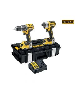DEWALT XR Brushless Bluetooth Twin Pack 18V 2 x 2.0Ah Bluetooth Li-ion - DEWDCK266D2B