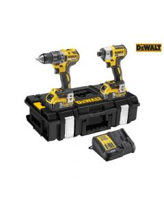 DEWALT XR Brushless Twin Pack 18V 2 x 5.0Ah Li-ion - DEWDCK266P2