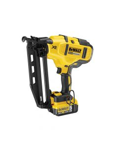 DEWALT Cordless XR Brushless Second Fix Nailer 18V 2 x 5.0Ah Li-Ion - DEWDCN660P2