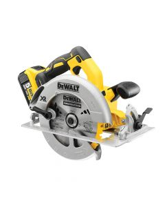 DEWALT XR Brushless Circular Saw 184mm 18V 2 x 5.0Ah Li-ion - DEWDCS570P2