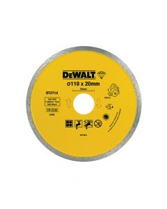 DEWALT Diamond Tile Blade 110 x 20mm - DEWDT3714QZ