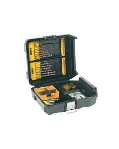DEWALT Mini MAC Masonry & Metal Drilling Kit Set 63 Piece - DEWDT9281QZ