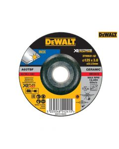 DEWALT FlexVolt XR Metal Grinding Disc 125 x 3mm - DEWDT99581QZ