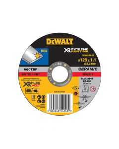 DEWALT FlexVolt XR Metal Cutting Disc 125 x 1.1mm - DEWDT99582QZ