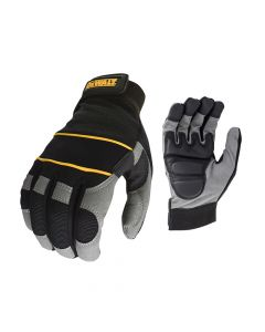 DEWALT Power Tool Gel Gloves Black / Grey DPG33L - DEWDWGPTG