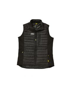 DEWALT Force Black Lightweight Padded Gilet - XXL - DEWFORCEXXL