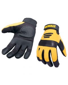 DEWALT Synthetic Padded Leather Palm Gloves - DEWPERFORM2