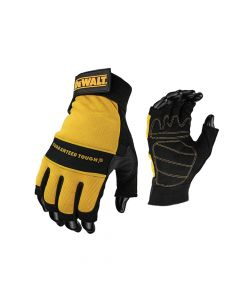 DEWALT 1/2 Synthetic Padded Leather Palm Gloves - DEWPERFORM4