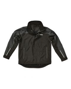 DEWALT Storm Grey/Black Waterproof Jacket - XXL - DEWSTORMXXL