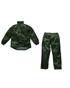Dickies Green Vermont Waterproof Suit - L (44-46in) - DIC10050LG