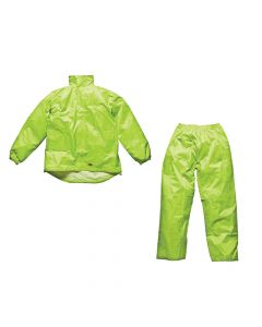Dickies Yellow Vermont Waterproof Suit - L (44-46in) - DIC10050LY