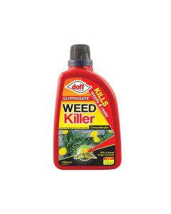 DOFF Glyphosate Weedkiller Concentrate 1 Litre - DOFFZA00