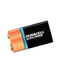 Duracell 9V Cell Ultra Power Battery Pack of 1 - DUR9VK1UM3