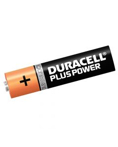 Duracell AAA Cell Plus Power Batteries Pack of 4 RO3A/LR0 - DURAAAK4P