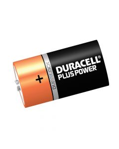 Duracell D Cell Plus Power Batteries Pack of 6 LR20/HP2 - DURDK6P