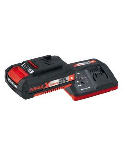 Einhell Power X-Change Battery & Charger Starter Kit 18V 1 x 2.0Ah Li-Ion - EINPXSTKIT2