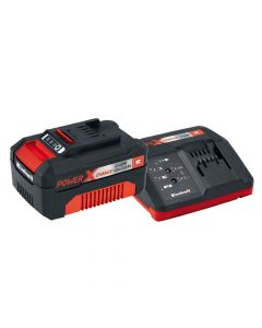 Einhell Power X-Change Battery & Charger Starter Kit 18V 1 x 3.0Ah Li-Ion - EINPXSTKIT3