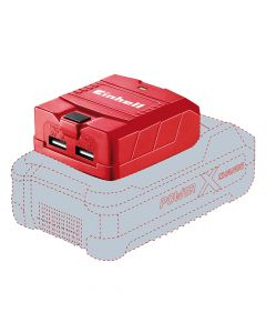 Einhell USB-Solo Power X-Change Battery Adaptor 18V Li-Ion - EINTECP18LI