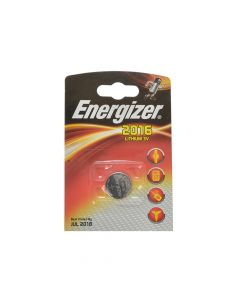 Energizer CR2016 Coin Lithium Battery Single - ENGCR2016