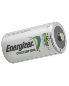 Energizer C Cell Rechargeable Power Plus Batteries RC2500 mAh Pack of 2 - ENGRCC2500
